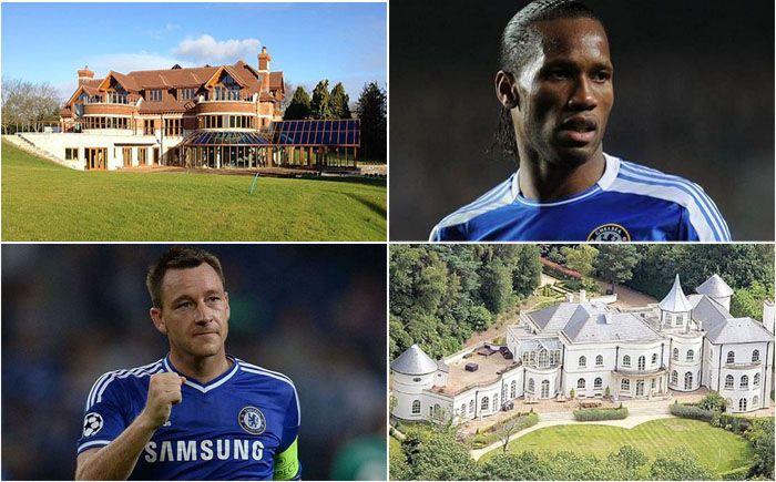 самые дорогие дома футболистов