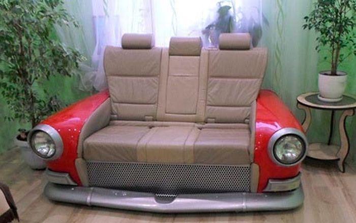 Уникальный диван из ГАЗ-21