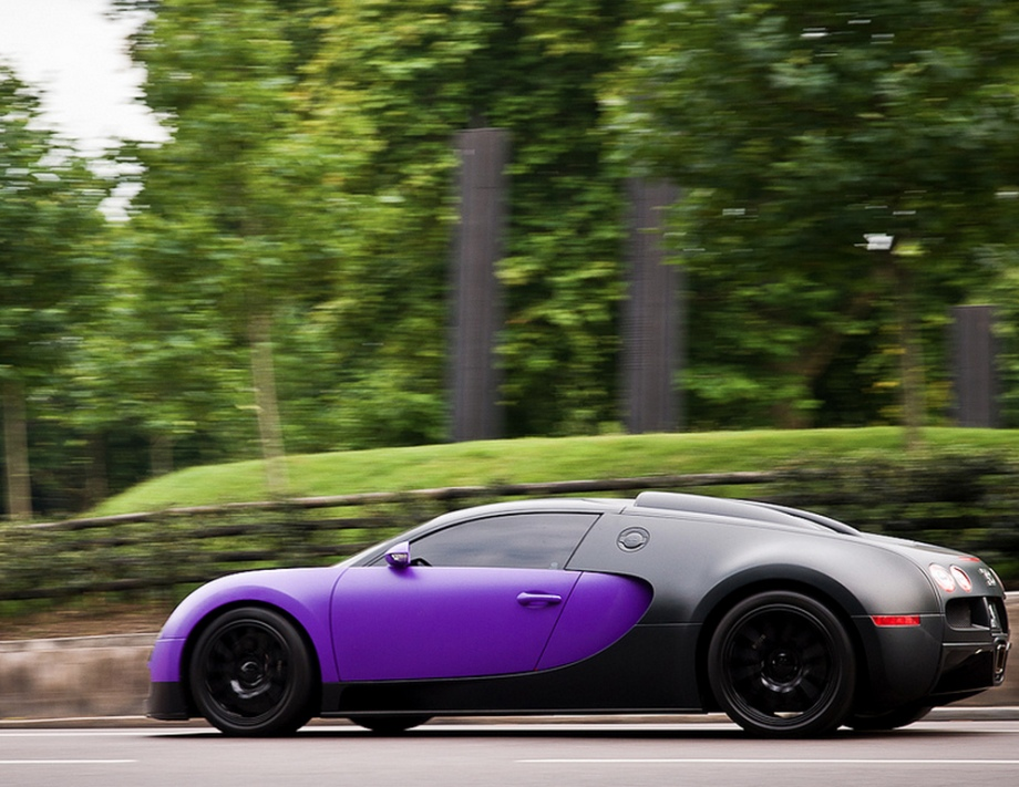 Purple bugatti wallpaper