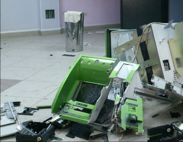 В Томске ограбили банкомант
