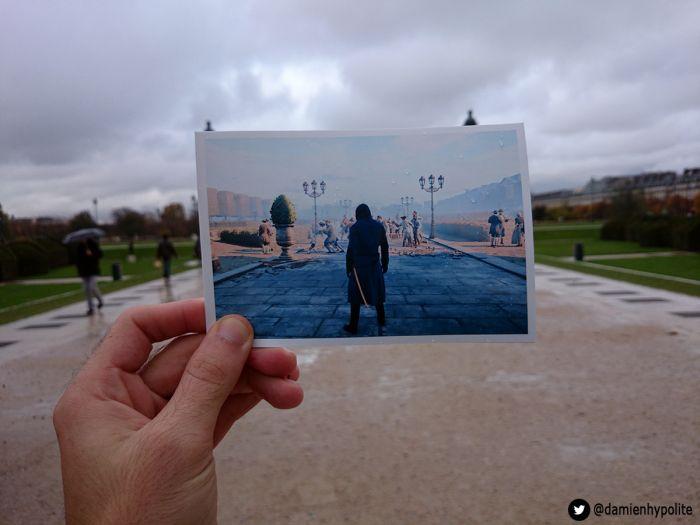 Улицы Парижа в игре Assassin и реальной жизни