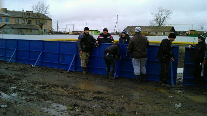 Каток в Челябинске