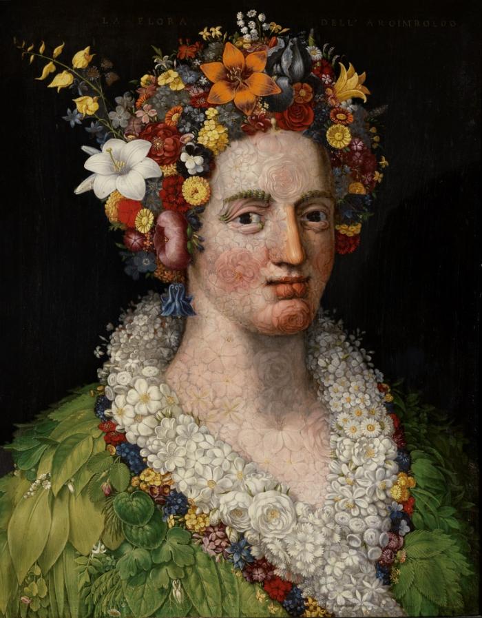 иллюзии в картинах Джузеппе Арчимбольдо