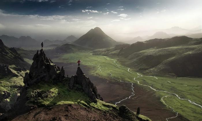 пейзажных фотографиях Макса Райва