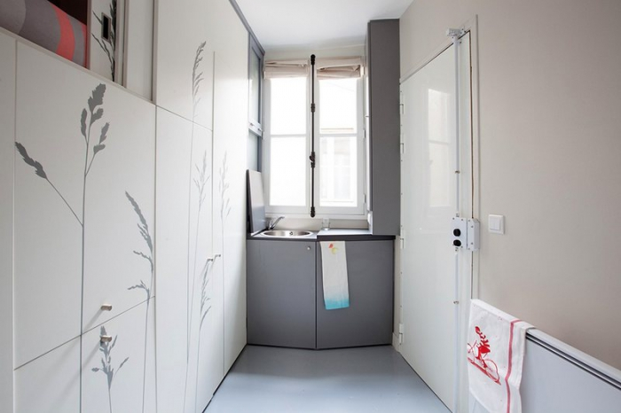 Уникальная квартира площaдью 8 кв метров