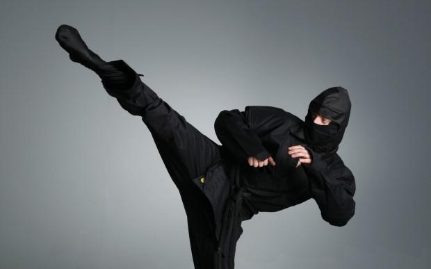 Секретные приёмы ниндзя
