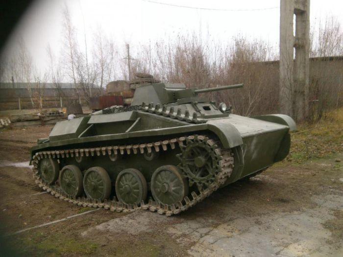 Танк Т-60 своими руками