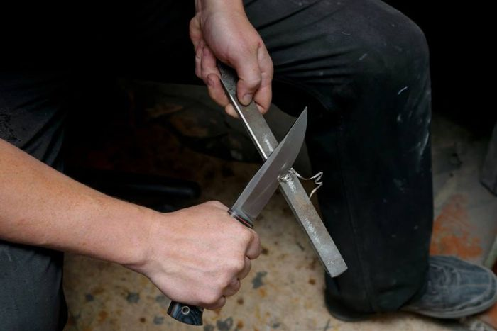 Ножи из неожиданных вещей