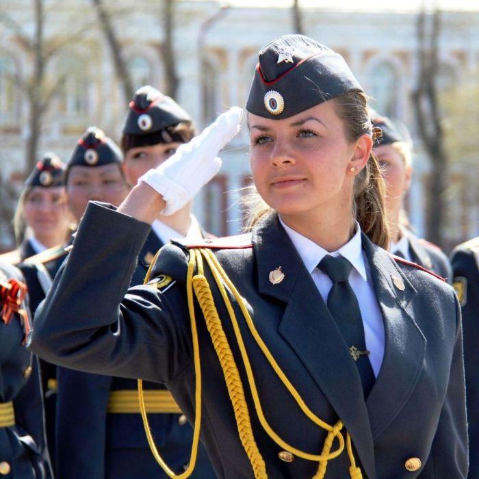 Девушки работающие в российской полиции