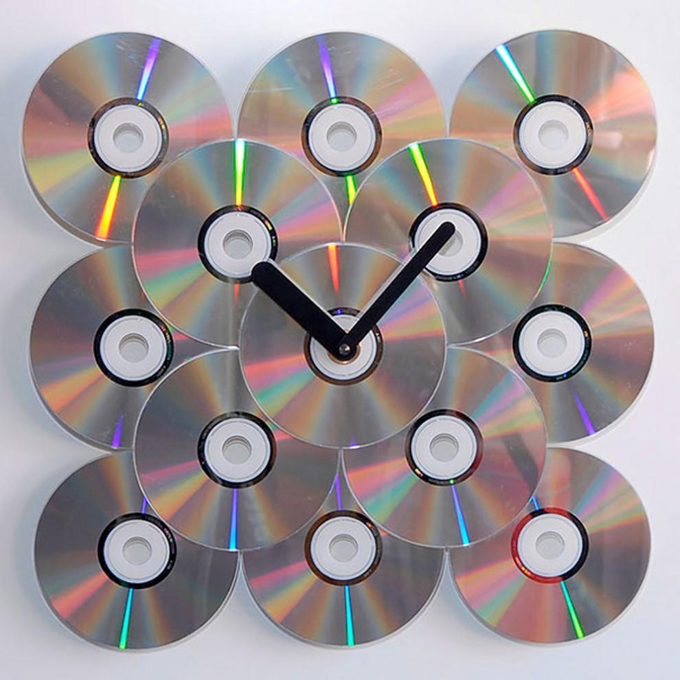 Из компакт дисков своими руками сделать