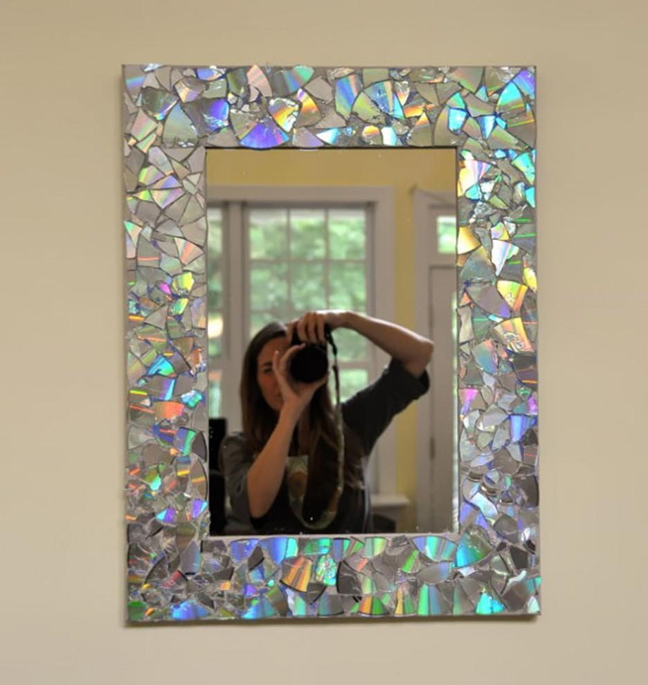 Как декорировать зеркало своими руками с фото