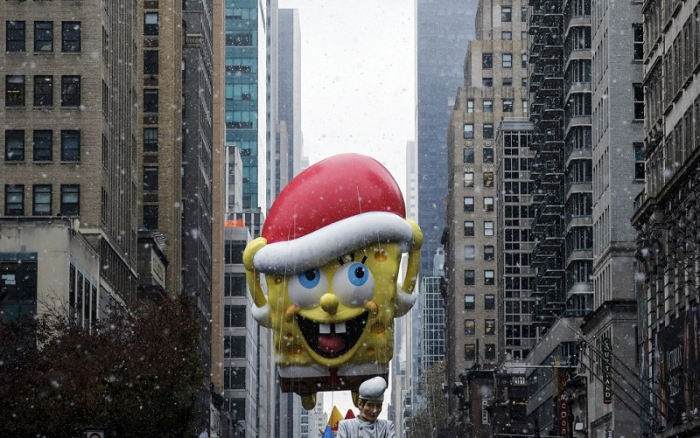 Парад Дня благодарения в Нью-Йорке
