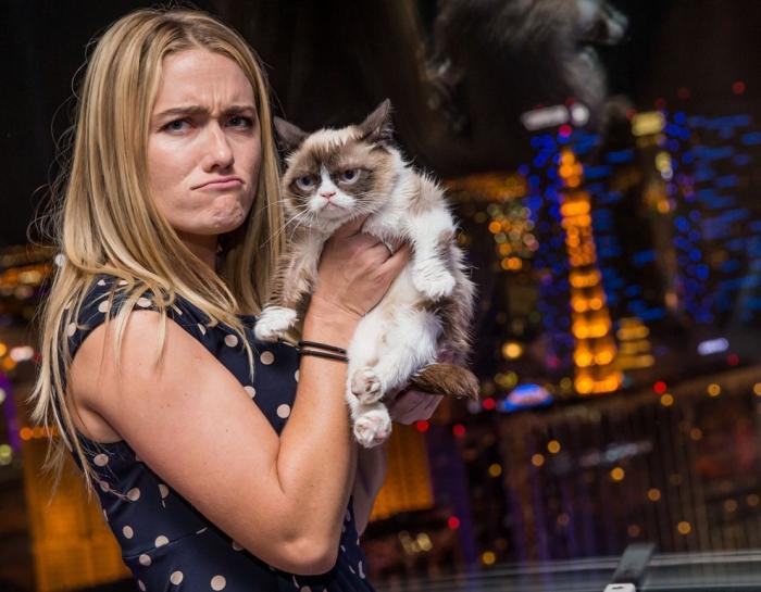 Секреты успеха Grumpy Cat