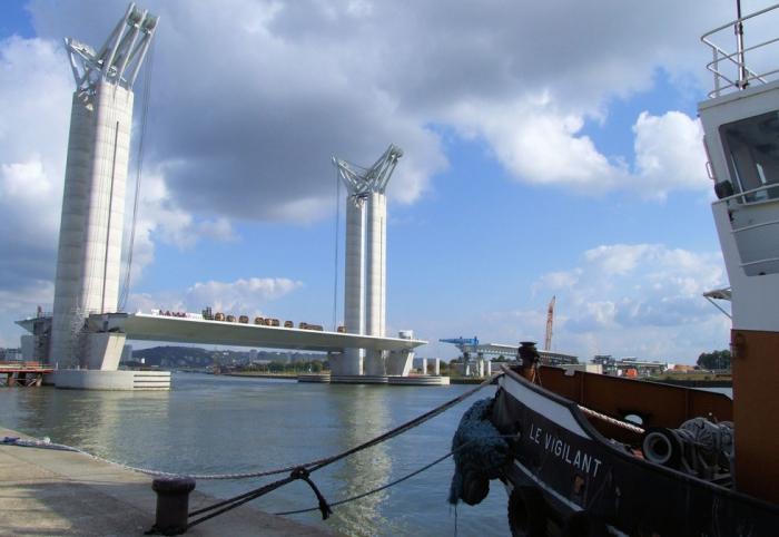 Мост-лифт Гюстава Флобера