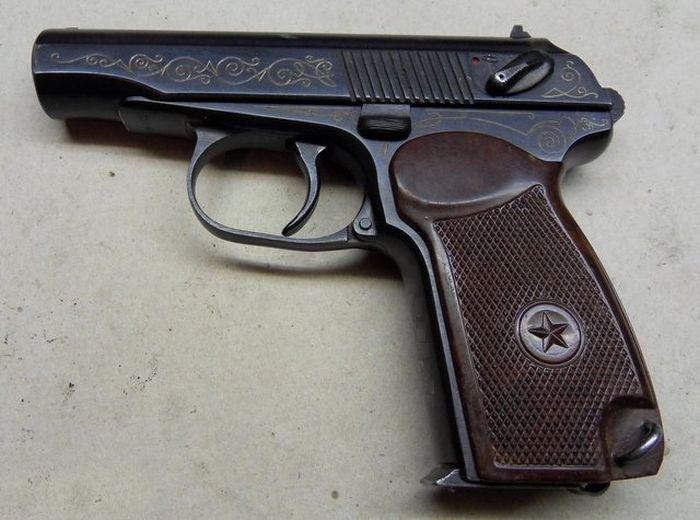 Эксклюзивный наградной пистолет ПМ-К