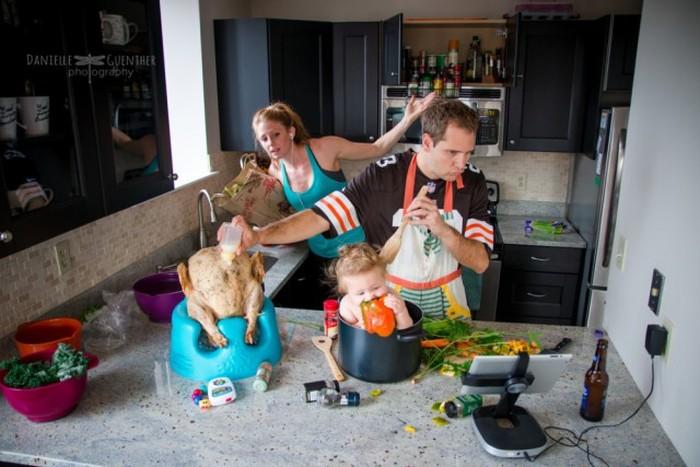 Жизнь молодых родителей как она есть
