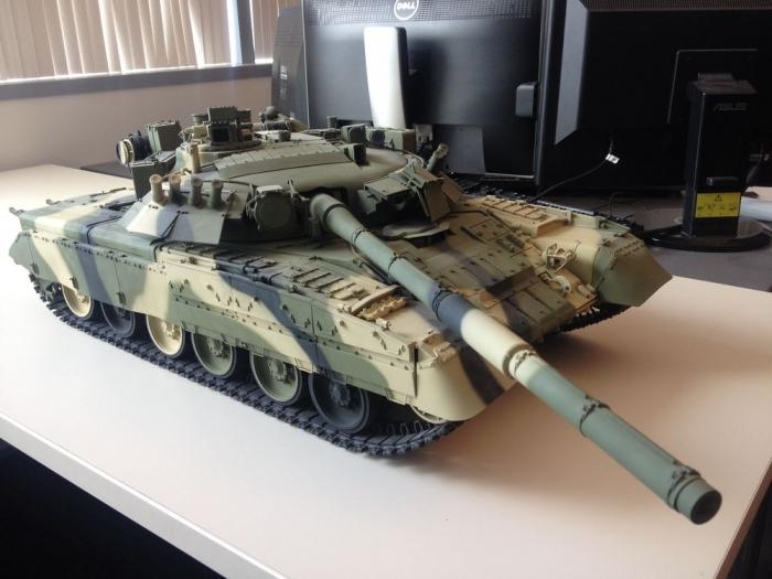 3D-печать советского танка T-80