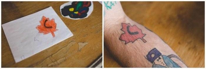 Нарисованные татуировки своими руками
