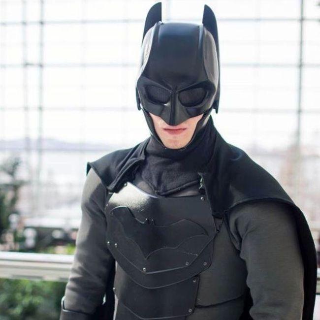 Костюм Бэтмена сделанный своими руками