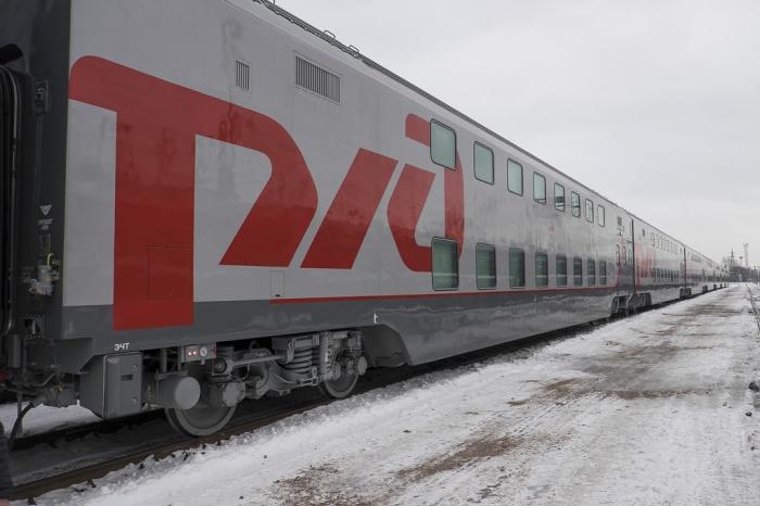 Обзор нового двухэтажного поезда РЖД