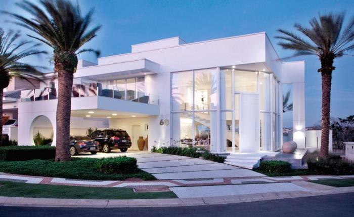 Роскошная белоснежная резиденция