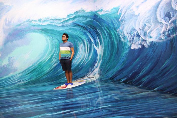Музей 3D-искусства в Маниле