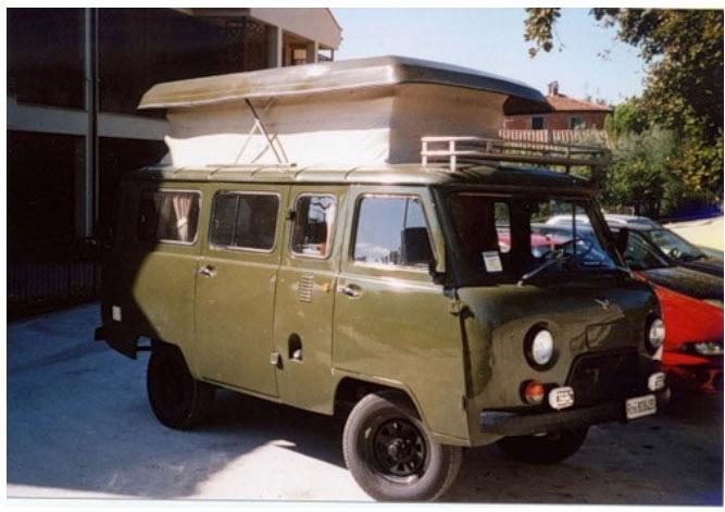 Дом на колесах на базе УАЗ-452