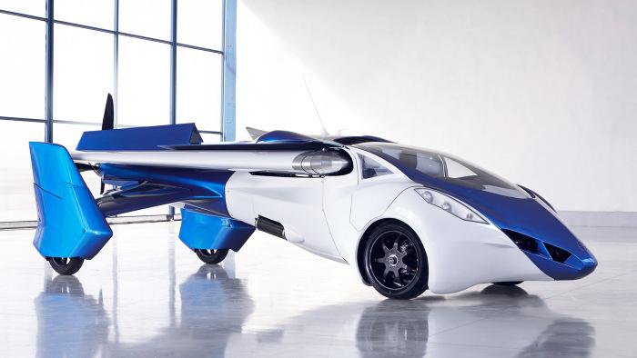 В 2017 году в продаже появятся летающие автомобили