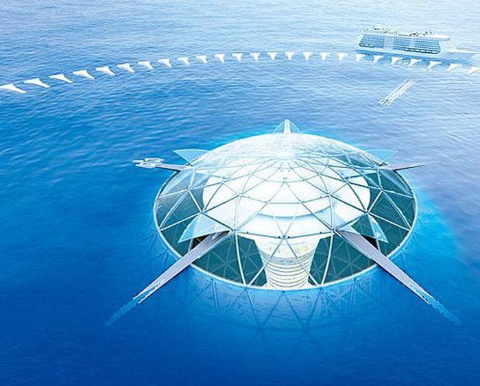 Подводные города будущего