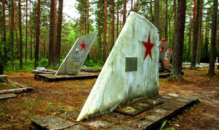 кладбище военных летчиков