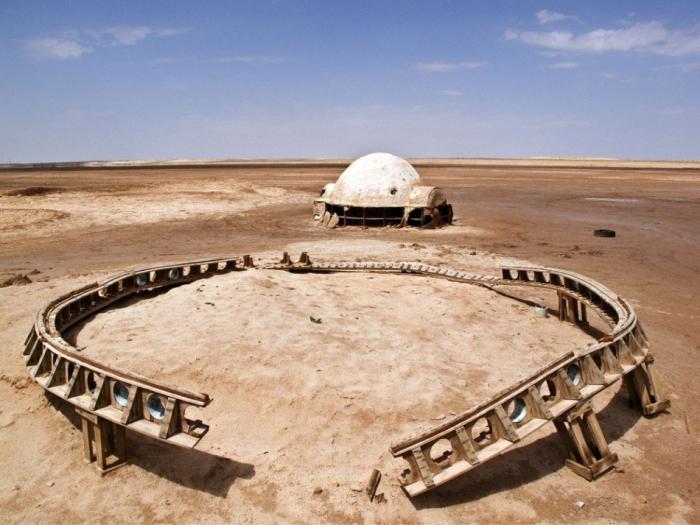 Заброшенные места съемок «Звездных войн»