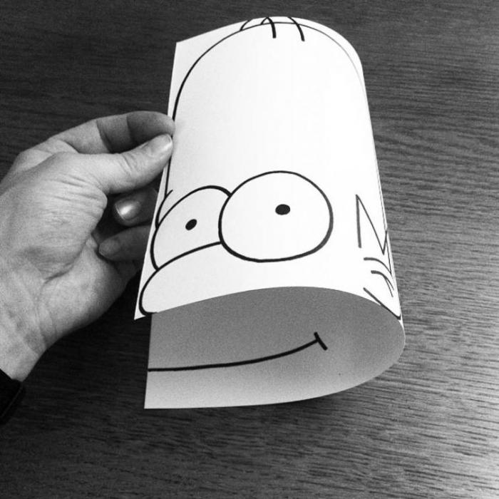 Бумажный креатив от HuskMitNavn