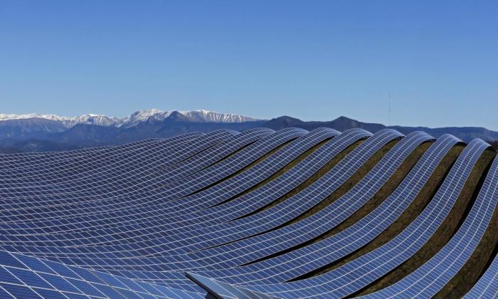 Долина солнечных батарей во Франции