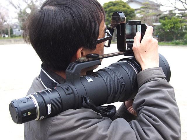 «ракетная установка» для фотографа