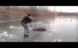 биатлон на рыбалке видео приколы