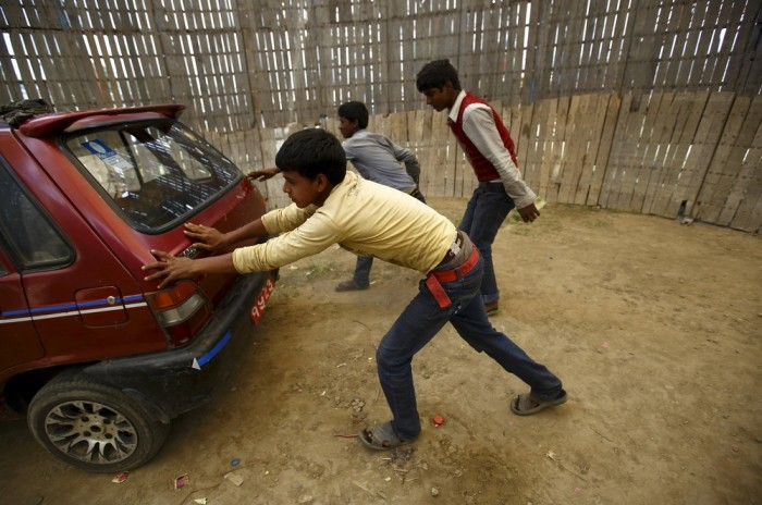 Колодец смерти в Непале