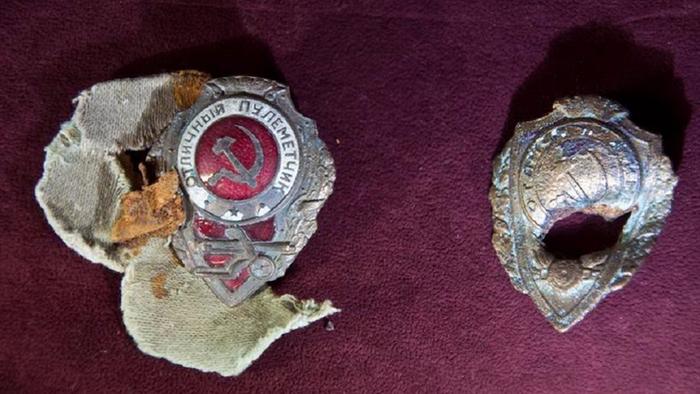 Военные медали и ордена героев