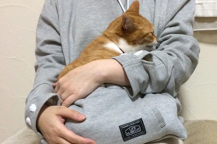 Толстовка для любителей животных