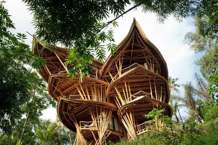 Бамбуковые дома