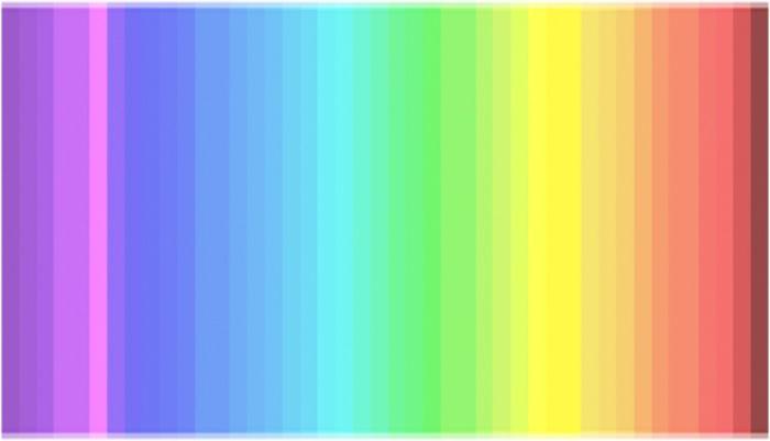 Сколько цветов вы видите в спектре?