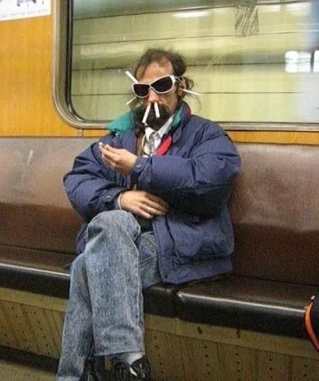 Модники питерского метро. Часть 4