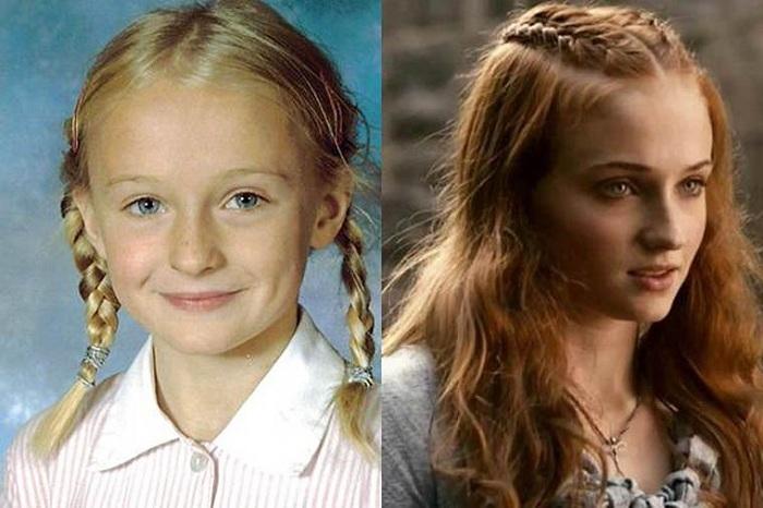 Актеры сериала «Игра престолов» в детстве и юности