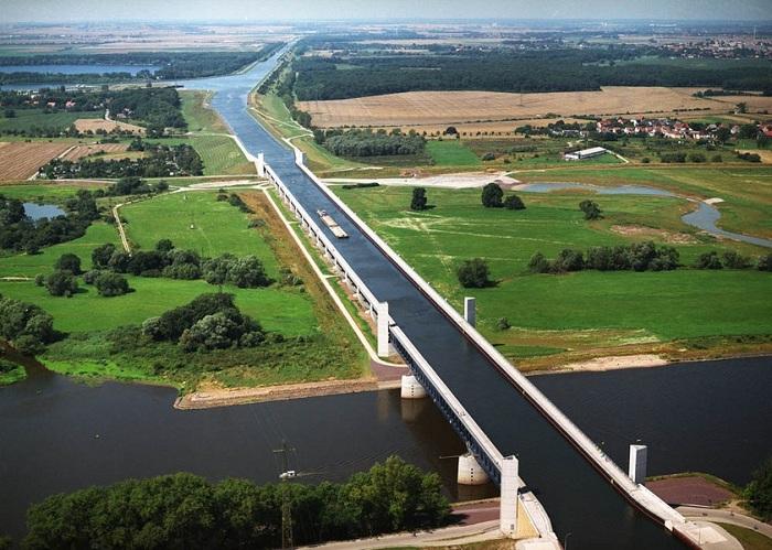 Судоходные мосты-каналы