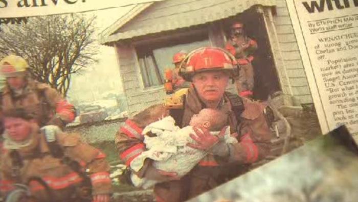 Пожарный побывал на выпускном девочки которую он спас