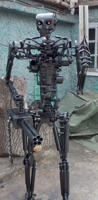 Самодельный робот