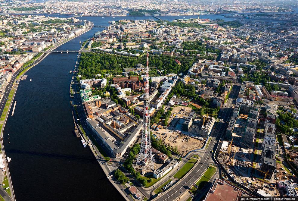фото санкт петербурга с высоты птичьего полета проснулась яркого