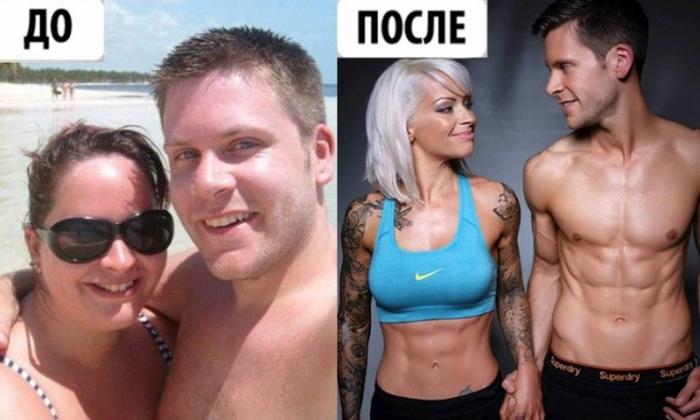 Они смогли похудеть трансформация поразит вас! Фото до и после.