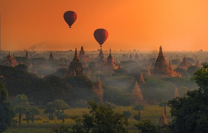 Красивые фотографии Мьянмы