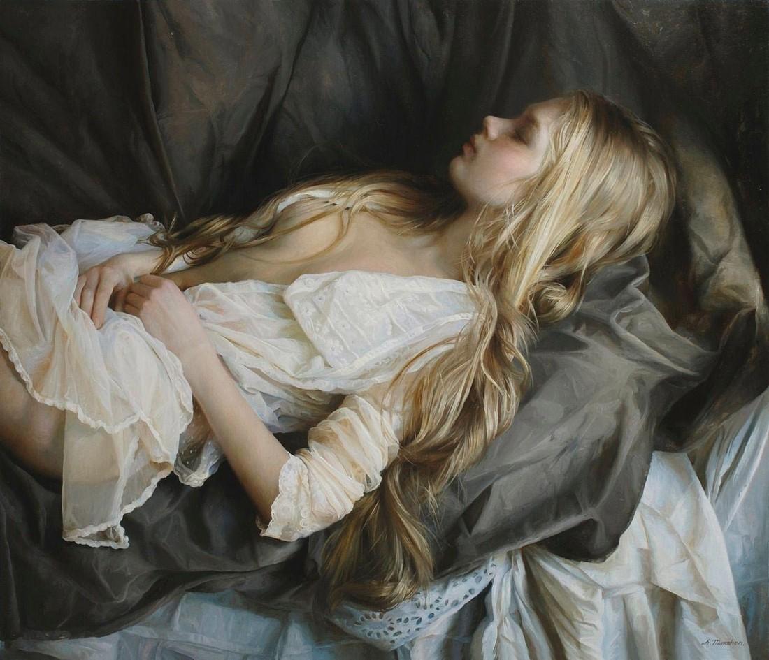 Съёмка спящих жён 23 фотография