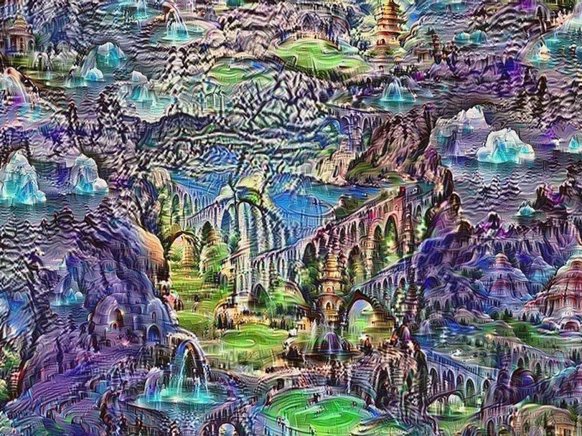 картинка удивительный мир который создан на земле разумом человека освещение